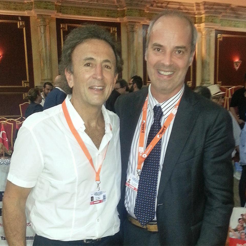 With Henry Salama